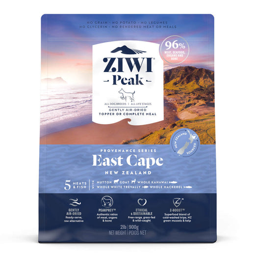 ZiwiPeak Provenance East Cape Grain-Free Dry Dog Food (11 TO 30 NOV) - Kohepets