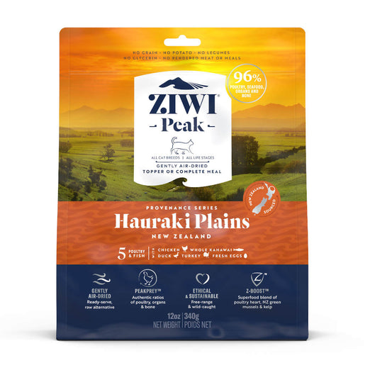 20% OFF: ZiwiPeak Provenance Hauraki Plains Grain-Free Air-Dried Cat Food - Kohepets