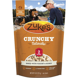 Zuke's Crunchy Naturals 2s Yogurt & Honey Dog Treats 9oz