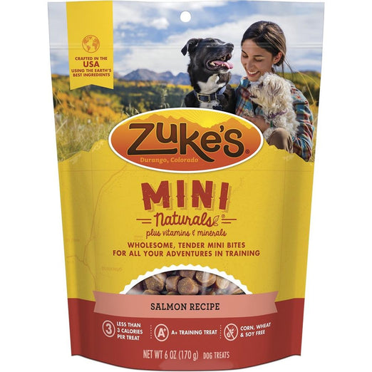 Zuke's Mini Naturals Salmon Recipe Dog Treats 170g