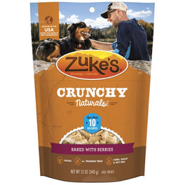 Zuke's Crunchy Naturals 10s Berries Dog Treats 12oz