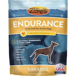 Zuke's Enhance Functional Endurance Chicken Dog Treats 5oz