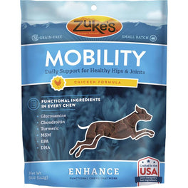 Zuke's Enhance Functional Mobility Chicken Dog Treats 5oz