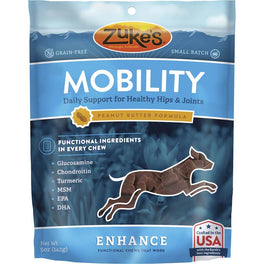 Zuke's Enhance Functional Mobility Peanut Butter Dog Treats 5oz
