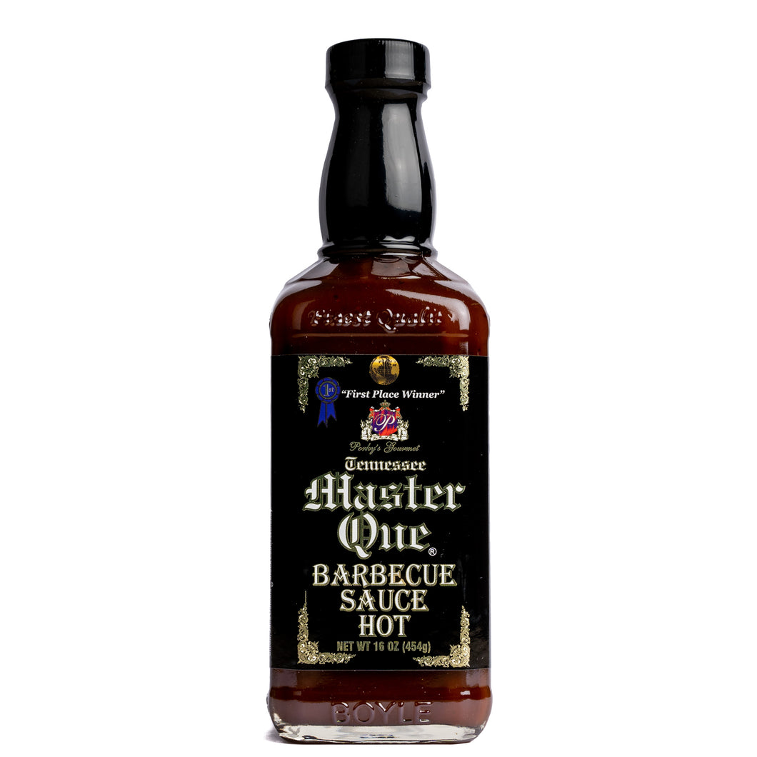 Master Que BBQ Sauce (Hot) - SEARSMITHS
