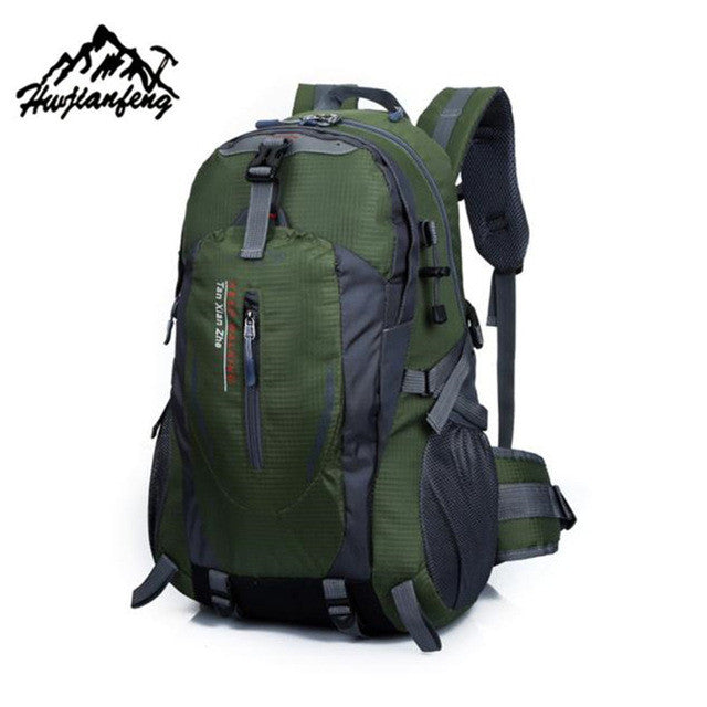 Outdoor mountaineering  40L  Waterproof  Travel Backpack