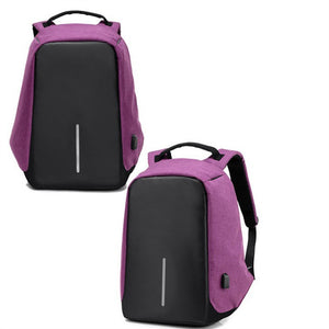Backpack With USB Charge Port, Waterproof