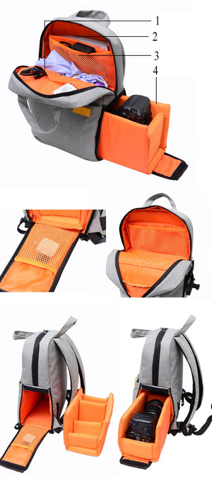 Digital  Camera Backpack