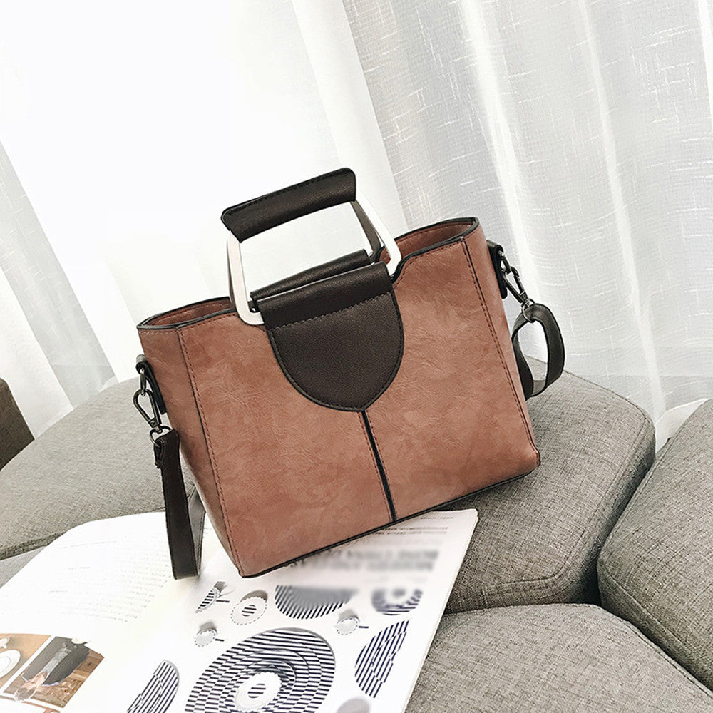 Women Fashion  Leather Shoulder Bag 2018