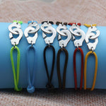 Handcuff Multicolor Rope Bracelets