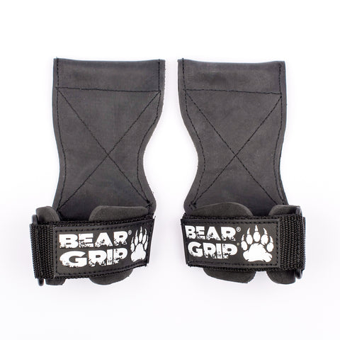 BEAR GRIP® - Multi Grip Straps/Hooks, Premium Heavy duty weight lifting straps / gloves.