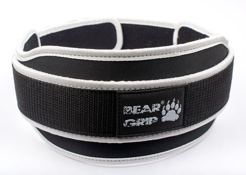 BEAR GRIP - Gym Weight Lifting Neoprene Double Belt Back Lumbar