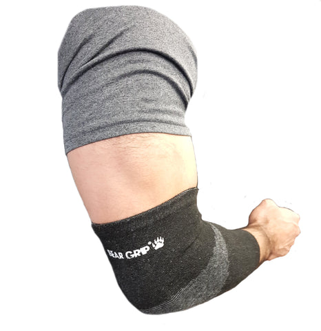 Bear Grip - Premium 5mm Compression & support Elbow Sleeves (Pair)