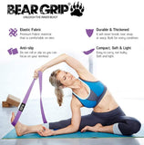 Fabric Long Resistance Bands Set - Full Body Workout Bands