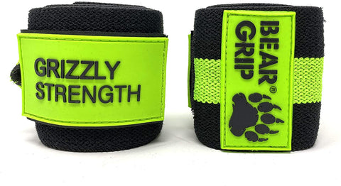 "Premium Heavy Duty 24"" Weight Lifting Wrist Wraps Bodybuilding"