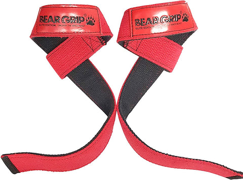 BEAR GRIP - Premium Dual Ply Lifting Straps, Elite Edition