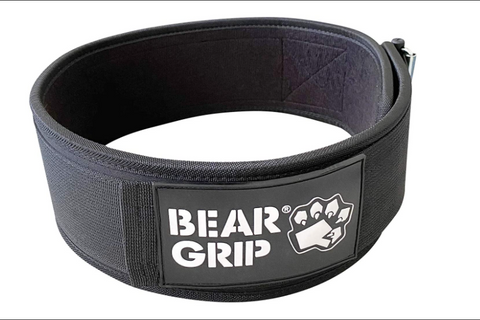 BEAR GRIP - Self-Locking Premium Weight Lifting Belt For CrossFit