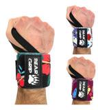 BEAR GRIP - Special Edition Premium Weight Lifting Wrist Support Wraps