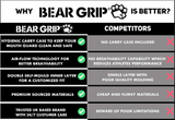 BEAR GRIP Mouth Guard Gum Shield For Boxing Rugby