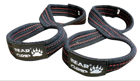 BEAR GRIP - Figure 8 Weight Lifting Straps Elite Edition