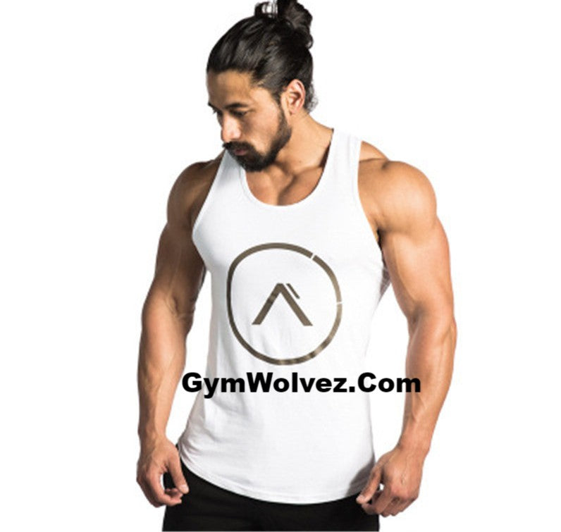 """Alpha"" Symbol Men's Tank Top"