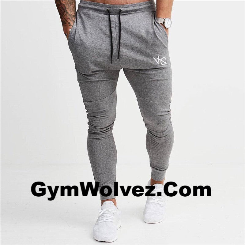 """VQ"" Solid Joggers"