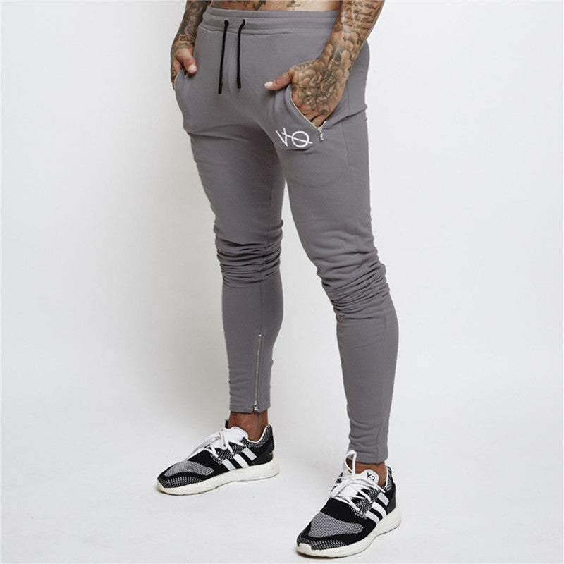 """VO"" Zipped Pocket Joggers"