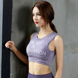 Women's Crop Top Fitness Workout Exercise Gym Bodybuilding Train Crossfit