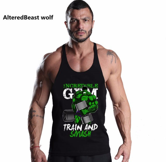 Hulk Gym Train Men's Tank Top