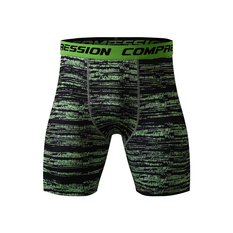 Camouflage Tactical Men's Compression Shorts