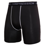 Men's Original Black Compression Shorts