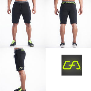 """Gym Aesthetics"" Solid Men's Shorts"
