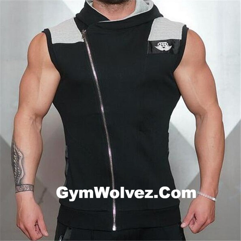 Body Engineers Sleeveless Sweatshirt
