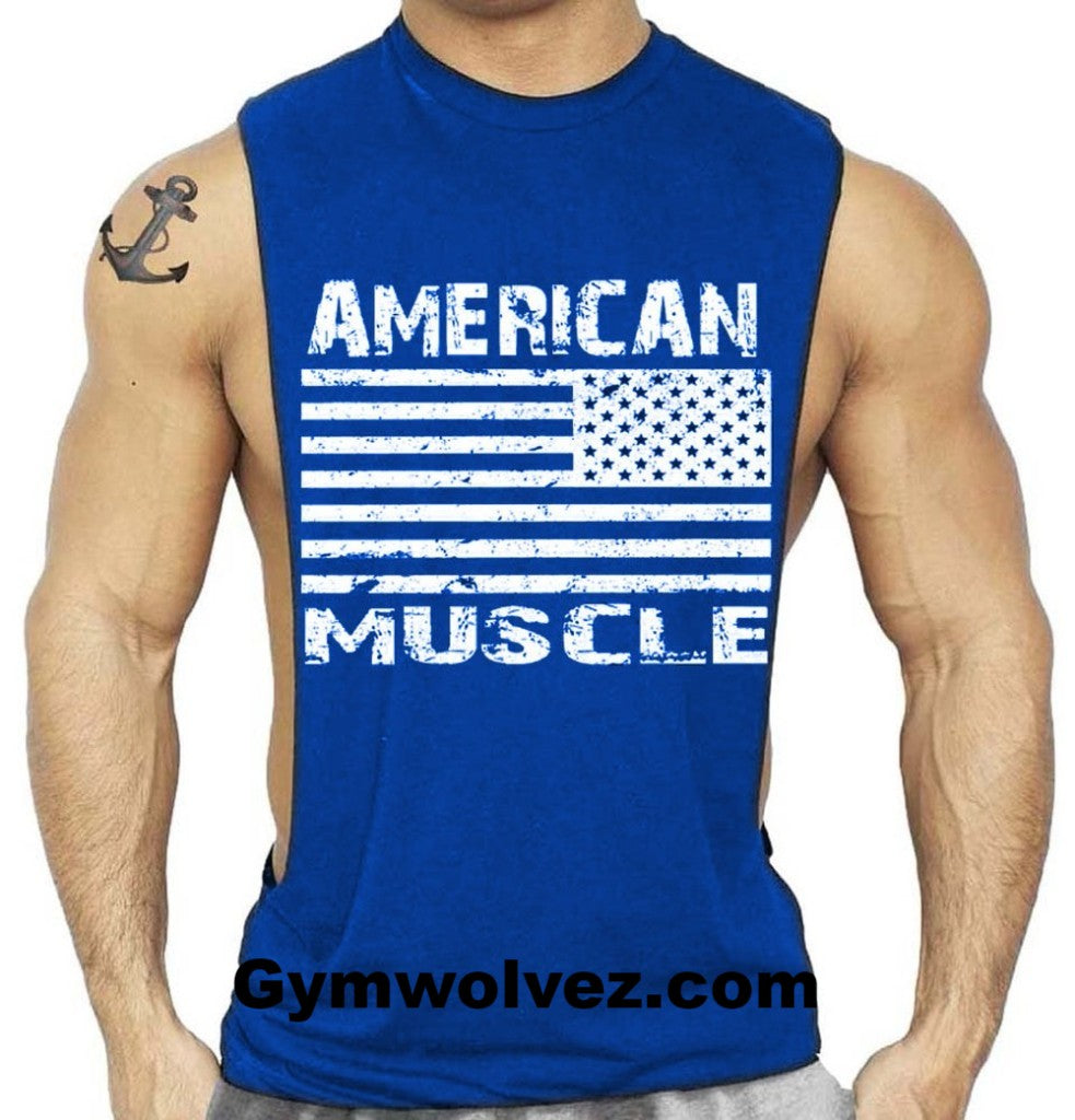 American Muscle Men's Tank Top