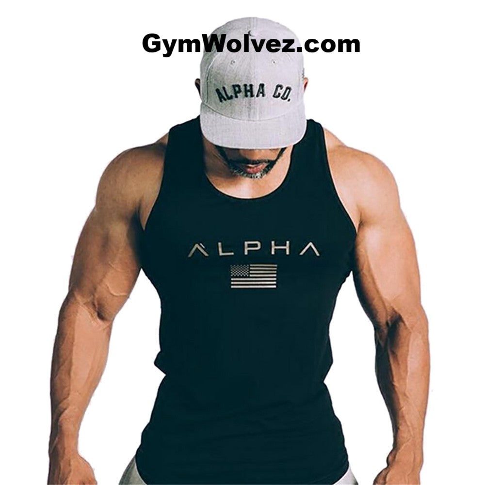 """Alpha"" Tank Top - 5 Colors Inside"