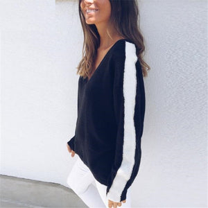 Vee Off Shoulder Loose Top