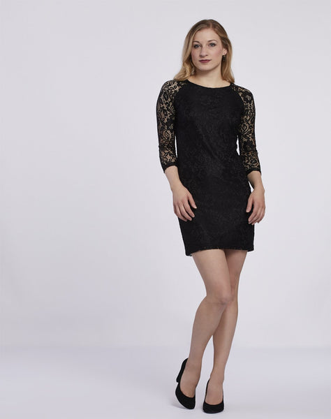 Lace T-body Dress