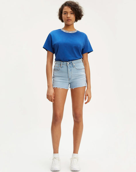 501® High Rise Shorts Dibs  - Light Wash