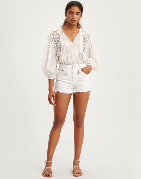 501� Original Shorts In The Clouds - White