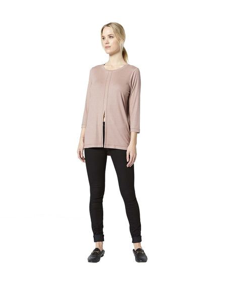 Serenity Slit Front Tunic