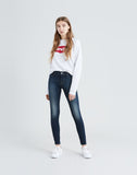 710 Super Skinny Women's Jeans Wandering Mind - Dark Wash