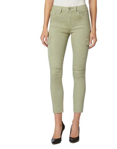 Barbara High-Rise Super Skinny Ankle Cargo Pant