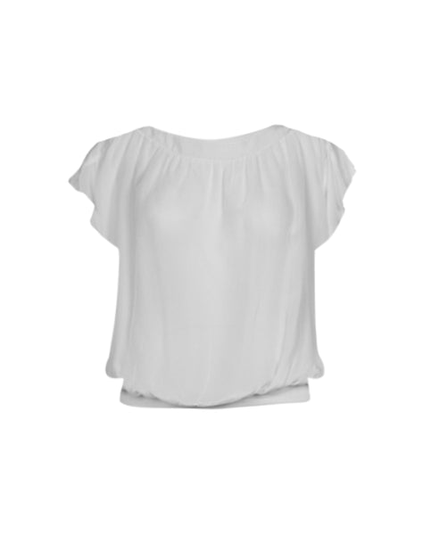 AMI short-sleeved top - Creme