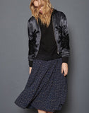 ANISA bomber jacket - Black mix