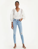 711 Skinny Women's Jeans Azure Ray Light Wash