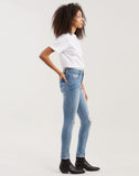 721 Selvedge High Rise Skinny Women's Jeans Cobalt - Light Wash
