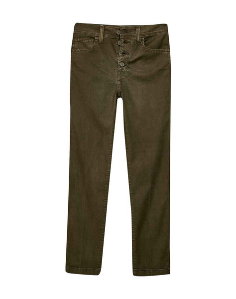 724 High Rise Straight Crop Utility Pants