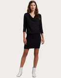 Cecile Cowl Neck Dress