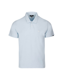 """A"" Emblem Polo in Sky Blue"