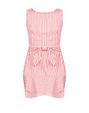 Adeline Striped Knotted Dress